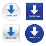 Quattro tasti di trasferimento dal sistema centrale verso i satelliti Royalty Illustrazione gratis