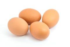 Quattro uova Immagine Stock