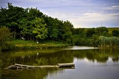 quay озера Стоковое Изображение