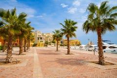 Abu Tig Marina. El Gouna, Egypt Royalty Free Stock Image