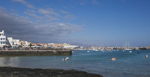 Free Quay And Harbor,harbour,Corralejo Royalty Free Stock Photography - 48460037