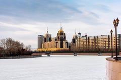 Quay in Astana Stockfotografie