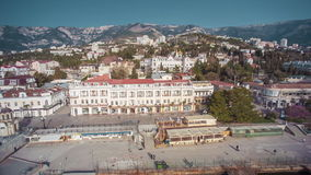 Quay Of The Big Yalta stock footage