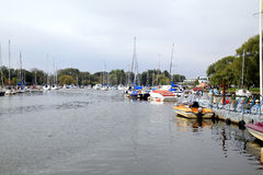 Quay, Christchurch, Dorset Lizenzfreie Stockfotografie
