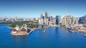 Quay circulaire Sydney Harbor Photographie stock