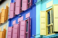 quay clark shutters singapore Стоковые Фото