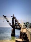 Quay crane Royalty Free Stock Image