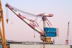 Quay crane Stock Image