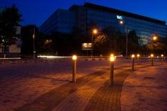 Quay da noite Foto de Stock