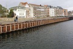 Quay des Kystvejen in Ã-… Rhus stockfotos