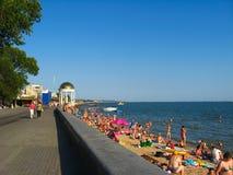 Quay des Meeres Stockbild