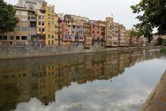 Quay Girona Royalty Free Stock Photos