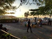 Quay-Hafen in Sansibar Lizenzfreie Stockfotos