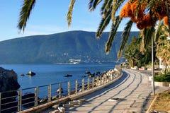 Quay in Herceg Novi Stock Photos