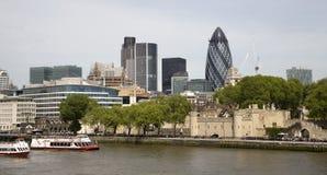 quay london зданий самомоднейший Стоковое Изображение