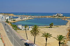 Quay in Monastir, Tunisia Stock Image