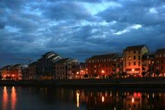 Quay-Nachtszenen 2 stockbild