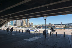 The Quay from the Opera House royalty free stock image