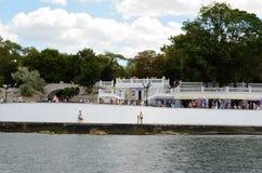 Quay Sevastopol bay Royalty Free Stock Image