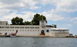 Quay Sevastopol bay Royalty Free Stock Photography