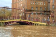 Quay Street Bridge Royalty Free Stock Photo