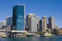 Quay - Sydney Harbour - Australia circulares Fotos de archivo libres de regalías