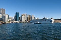 Quay - Sydney Harbour - Australia circulares Foto de archivo libre de regalías