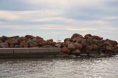 Quay Torrevieja images stock