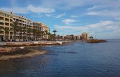 Quay Torrevieja Stock Photo