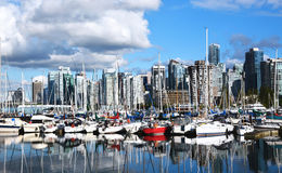 The quay in the Vancouver Stock Images