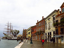 Quay in Venice Royalty Free Stock Photos