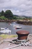 Quay. Village fishing quay in Kerry, Eire Royalty Free Stock Photo