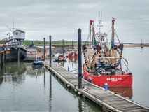 The Quay Wells next the Sea Royalty Free Stock Images