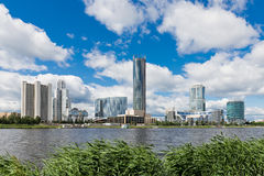quay wharf embankment Yekaterinburg City. Stock Photos