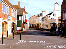 The Quay, Yarmouth, Isle of Wight. The street known as The Quay at Yarmouth, Isle of Wight, England, UK Royalty Free Stock Photo