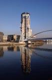 Quays de Salford Imagens de Stock Royalty Free