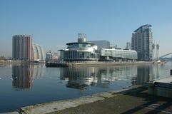 Quays Manchester di Salford Fotografie Stock