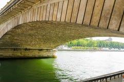 Quays of the Seine Parisian. Sight of the bridge Alexander III, more beautiful view of Paris Royalty Free Stock Photos