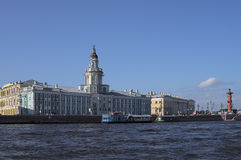 Quays of St.Petersburg Stock Images
