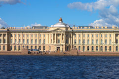 Quays of St.Petersburg Royalty Free Stock Images