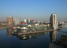 Salford Quays Theatre Manchester  Royalty Free Stock Images