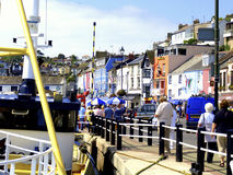 Quayside, Brixham, Devon. Stock Photos