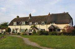 Quayside cottages at Porlock Weir. Somerset Stock Photos