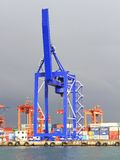 Quayside Crane Royalty Free Stock Photo