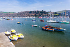 Quayside at Dartmouth Stock Image