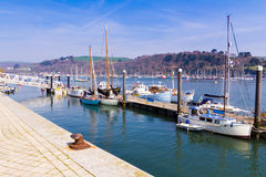Quayside at Dartmouth Stock Images