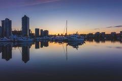 Free Quayside Marina At Sunrise Royalty Free Stock Image - 117318426