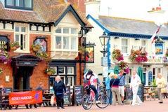 Quayside, Poole-Haven, Dorset Stock Fotografie