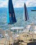 Quayside restaurant Royalty Free Stock Photo