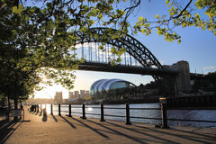 Quayside Shadows Royalty Free Stock Photo